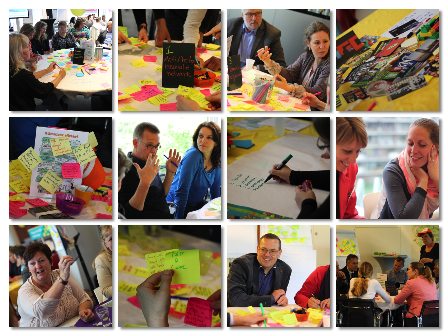 Innovatie Cafe collage