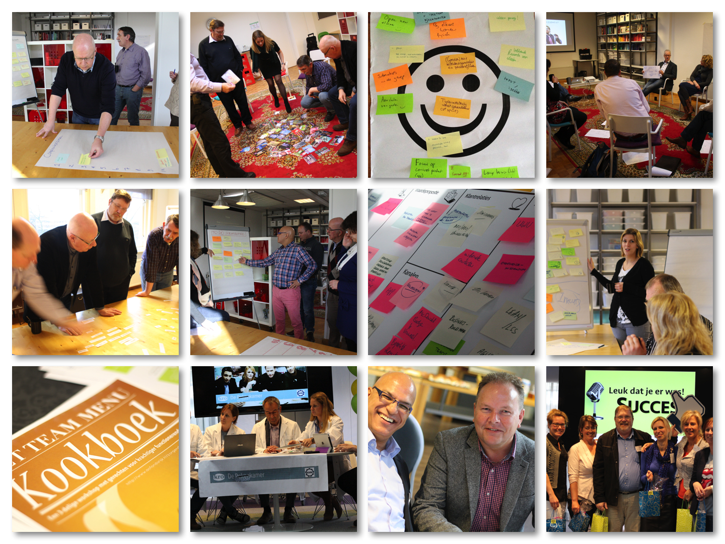 Experimentteams collage